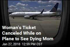 Woman Trying to Reach Her Dying Mom Pulled Off Flight