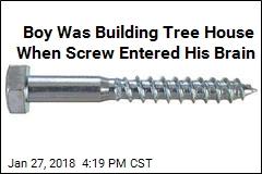 Boy With Screw in Brain Was 'Millimeter From Death's Door'