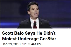 Scott Baio Says He Didn't Molest Underage Co-Star