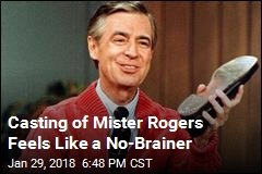 Casting of Mister Rogers Feels Like a No-Brainer
