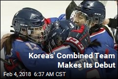 Koreas' Combined Team Makes Its Debut
