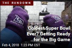 Coldest Super Bowl Ever? Getting Ready for the Big Game