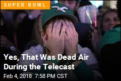 Yes, That Was Dead Air During the Telecast