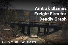 Amtrak Blames Freight Firm for Deadly Crash
