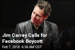 Jim Carrey Says Investors Should Dump Facebook Stock