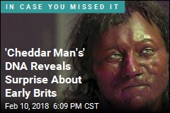 'Cheddar Man's' DNA Reveals Surprise About Early Brits