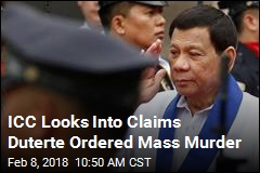 Focus of ICC Probe, Duterte Is Apparently Unperturbed
