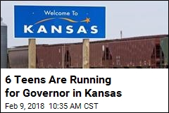 6 Teens Are Running for Governor in Kansas