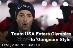 Olympics Kick Off to 'Gangnam Style'
