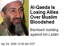 Al-Qaeda Is Losing Allies Over Muslim Bloodshed