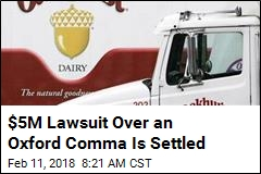 $5M Lawsuit Over an Oxford Comma Is Settled