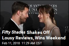 Fifty Shades Shakes Off Lousy Reviews, Wins Weekend