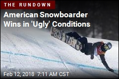 In 'Ugly' Conditions, 9 of 50 Snowboarders Finished Their Runs