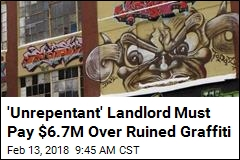 Graffiti Artists Win $6.7M From 'Unrepentant' Landlord