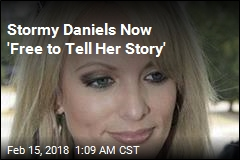 Stormy Daniels Now 'Free to Tell Her Story'