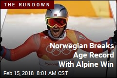 Norwegian Breaks Age Record With Alpine Win