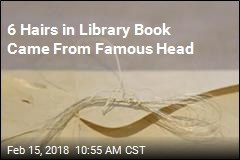 George Washington's Hair Found Tucked in Library Book