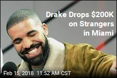 Drake Drops $200K on Strangers in Miami