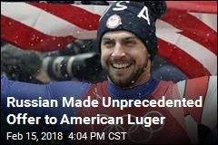 Russian Made Unprecedented Offer to American Luger