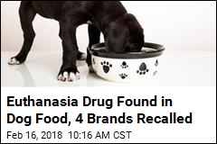 Behind This Dog Food Recall: a Drug That Can Kill Horses