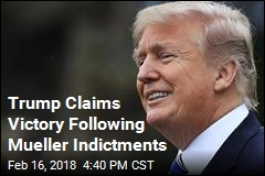 Trump Claims Victory Following Mueller Indictments