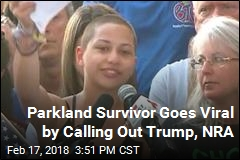 Parkland Survivor Goes Viral by Calling Out Trump, NRA