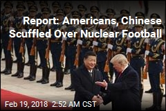 Report: Americans, Chinese Scuffled Over Nuclear Football