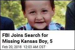 FBI Joins Search for Missing Kansas Boy, 5