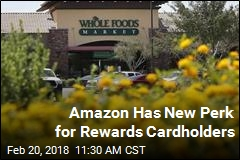 Amazon Has New Perk for Rewards Cardholders