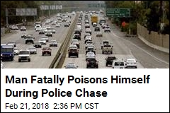 Man Fatally Poisons Himself During Police Chase