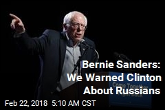 Sanders Says Russians Targeted His Supporters