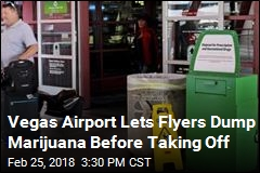 Las Vegas Airport Offers Boxes For Dumping Your Weed