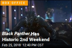 Black Panther Still Dominating