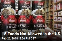 5 Foods Not Allowed in the US