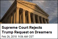 Supreme Court Rejects Trump Request on Dreamers
