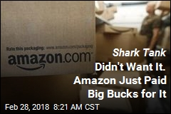 Shark Tank Didn't Want It. Amazon Just Paid Big Bucks for It