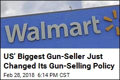Walmart Joins Dick's in Raising Age to Buy Guns