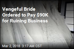Bride Who Attacked Business Online Ordered to Pay $90K