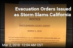 30K Ordered to Evacuate Ahead of Calif. Storm