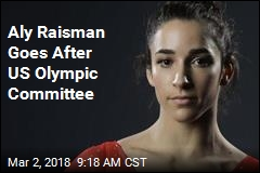 Aly Raisman Sues USOC Over Nassar Abuse