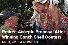Conch Shell Blowing Contest Turns Into Touching Proposal