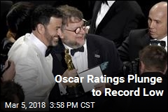 Oscar Ratings Plunge to Record Low