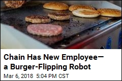 California Chain Has a New Grill Cook—a Robot