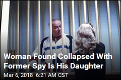 Woman Slumped on Bench With Former Spy Is His Daughter