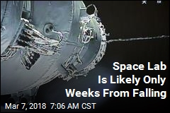 Space Lab Is Likely Only Weeks From Falling