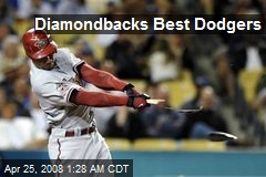 Diamondbacks Best Dodgers