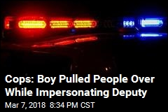Cops: Boy Pulled People Over While Impersonating Deputy