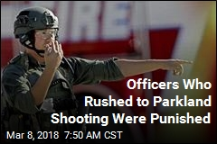 SWAT Officers Rushed to Parkland, Were Suspended for It