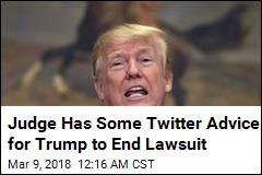 Judge to Trump: Muting, Not Blocking, May End Twitter Suit