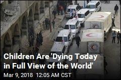 'Insane' Violence Halts Syria Aid Convoy
